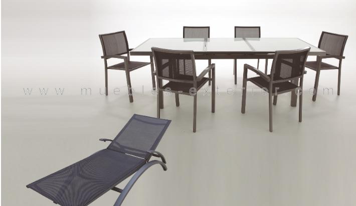 Conjunto de sillas y mesas de exterior gij n for Jardin y exterior muebles terraza