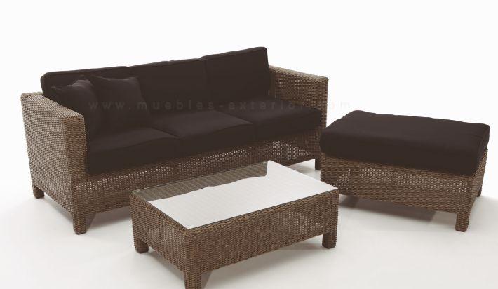 Sof s de jard n m laga sof s y lounge for Muebles de jardin exterior
