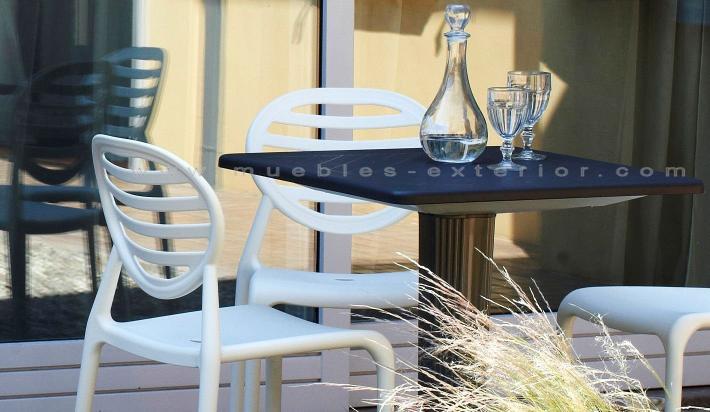 Sillas de resina - Muebles de resina para exterior ...