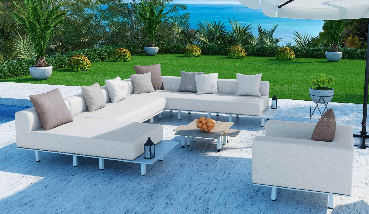 Muebles de jardin madrid awesome lujo muebles de jardin for Sofa exterior wallapop