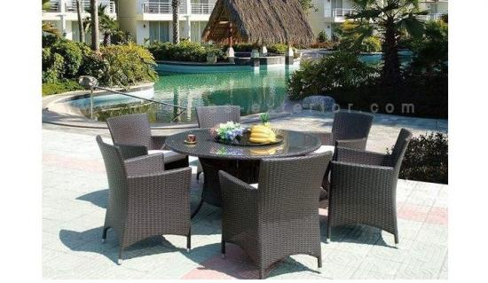 Sillas de jard n mesas de jardin for Mesa comedor exterior