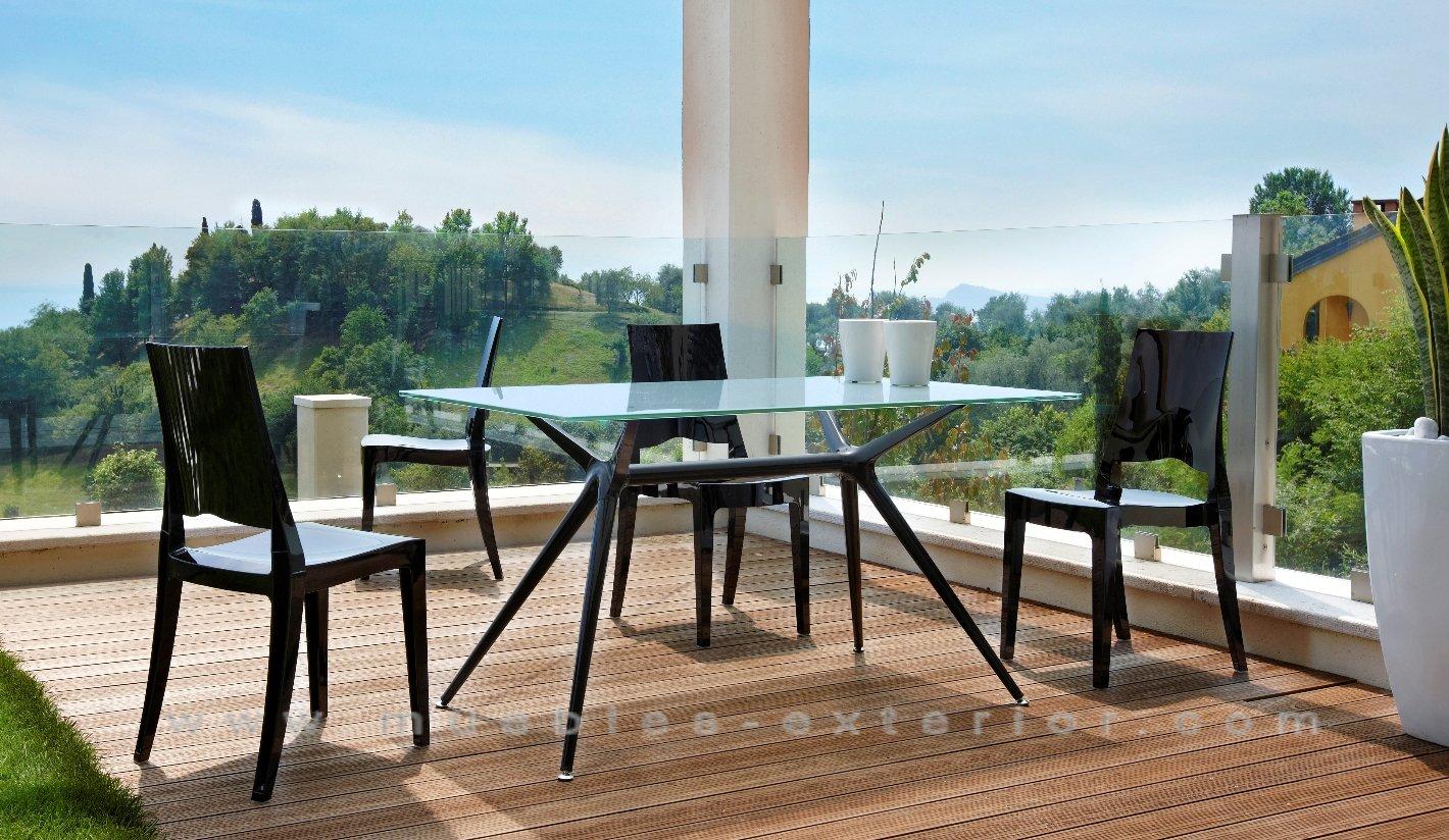 Mobiliario exterior las rozas for Muebles jardin exterior modernos
