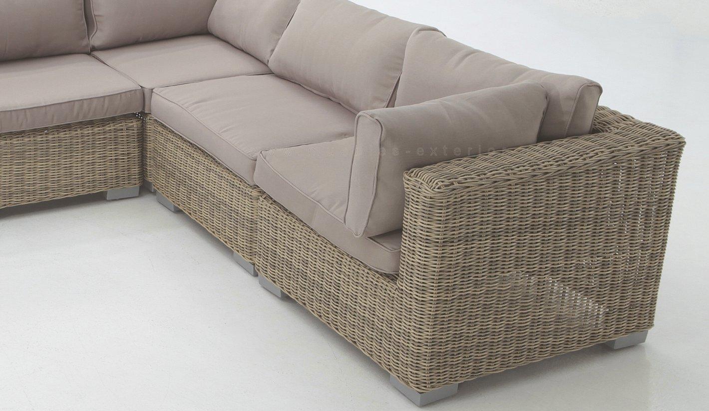 Muebles sof s jardin exterior kl for Sofa exterior terraza