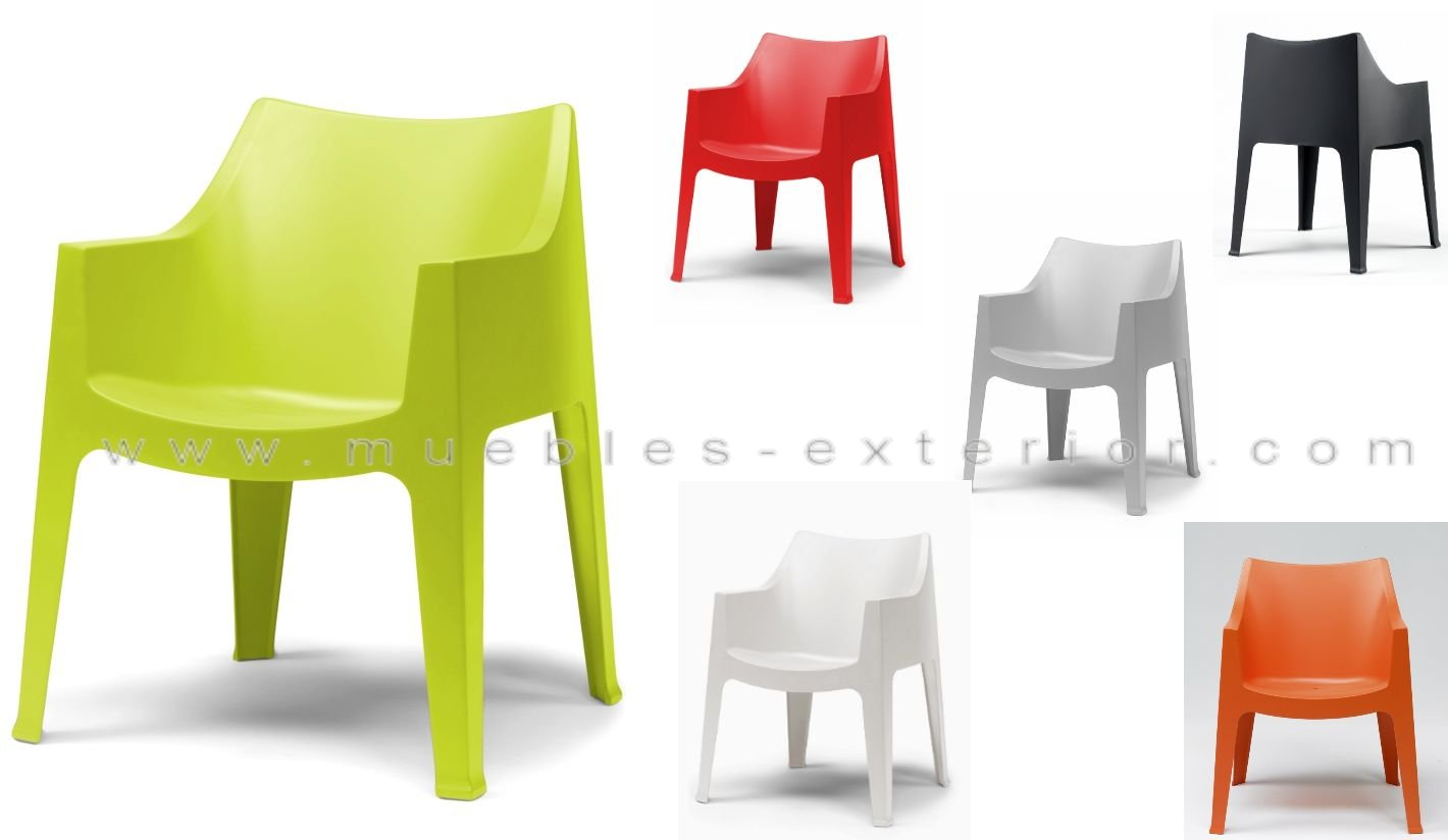 Sillas de resina for Muebles de resina ikea