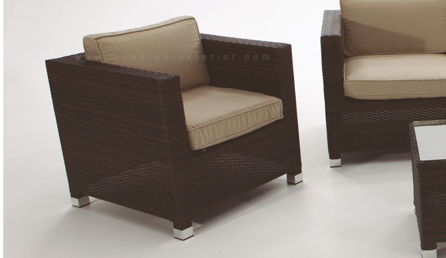 Sof s de jard n madri for Muebles para intemperie
