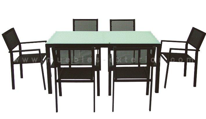 Muebles de terraza sillas y mesas for Fundas muebles terraza