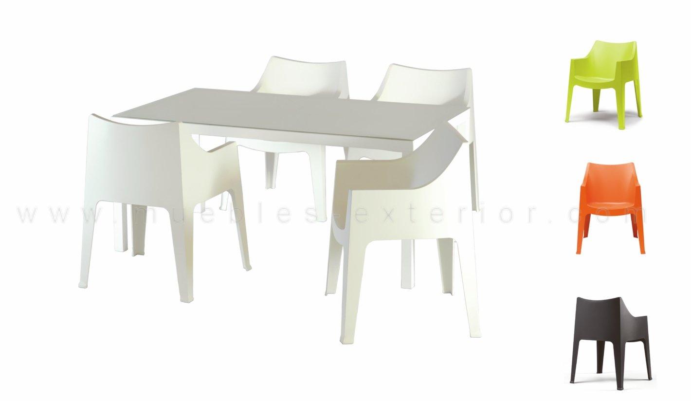 Sillas de resina for Muebles para terraza economicos