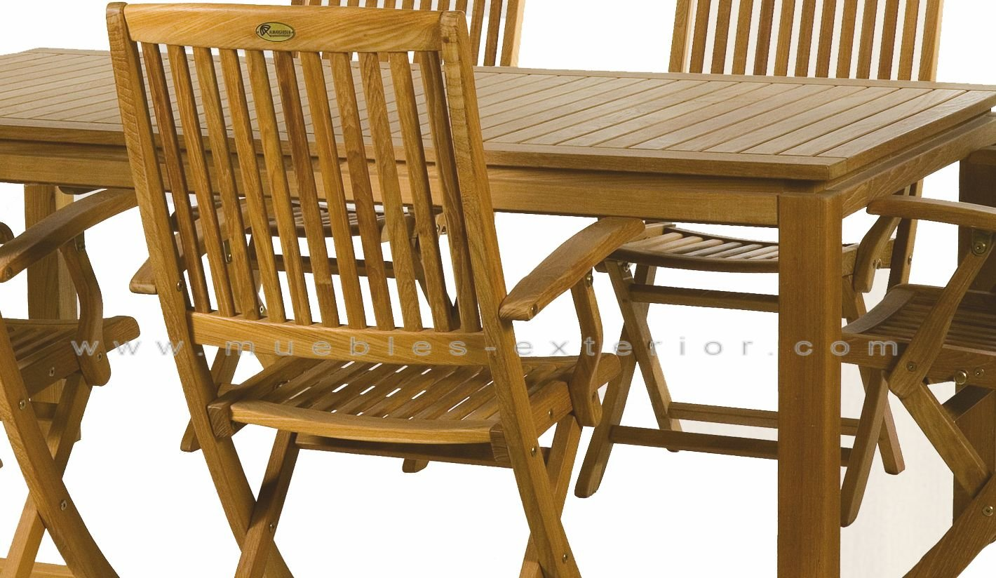 Muebles de Jardín de Teka