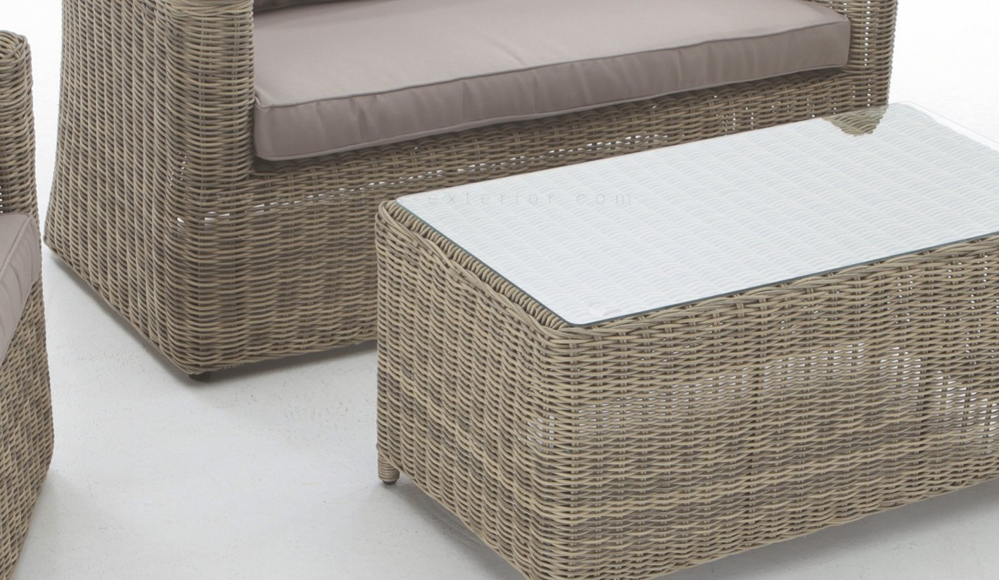 Muebles terraza rattan idea creativa della casa e dell for Mobiliario jardin rattan