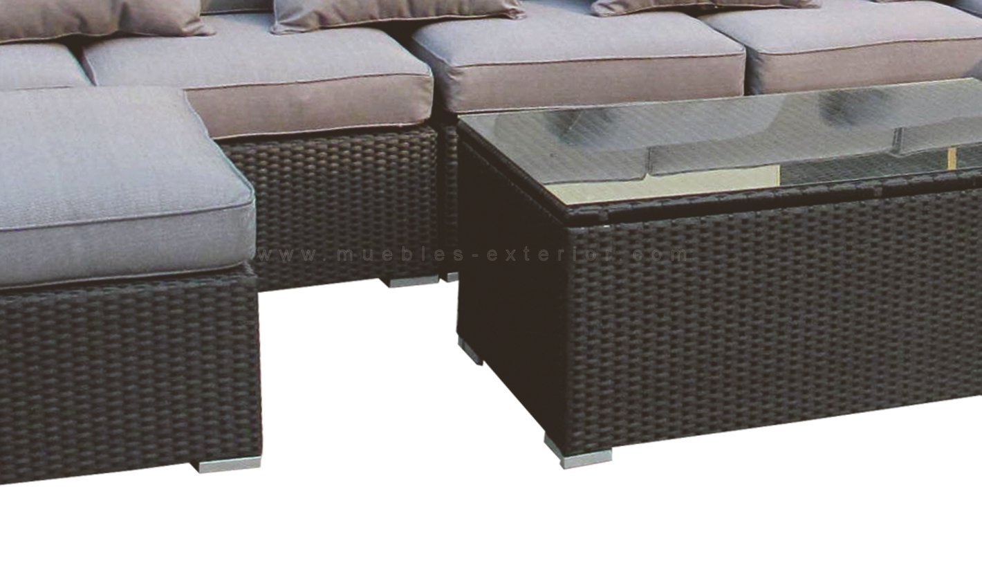 Muebles rattan exterior dise os arquitect nicos for Rattan muebles