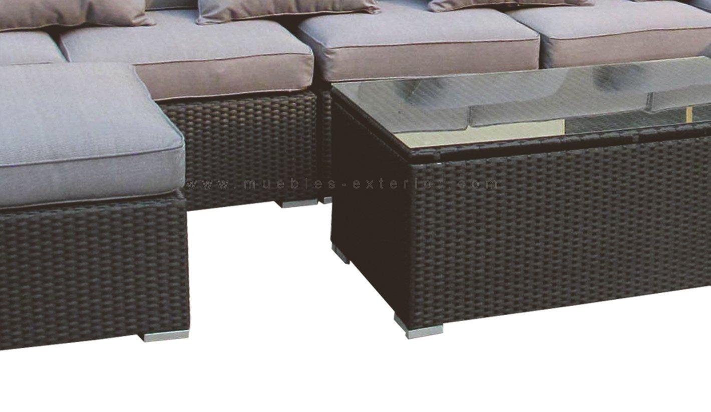 Sof s de jard n y muebles de exterior valencia for Sofa jardin