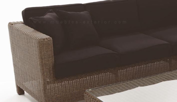 Sof s de jard n m laga sof s y lounge - Muebles jardin malaga ...