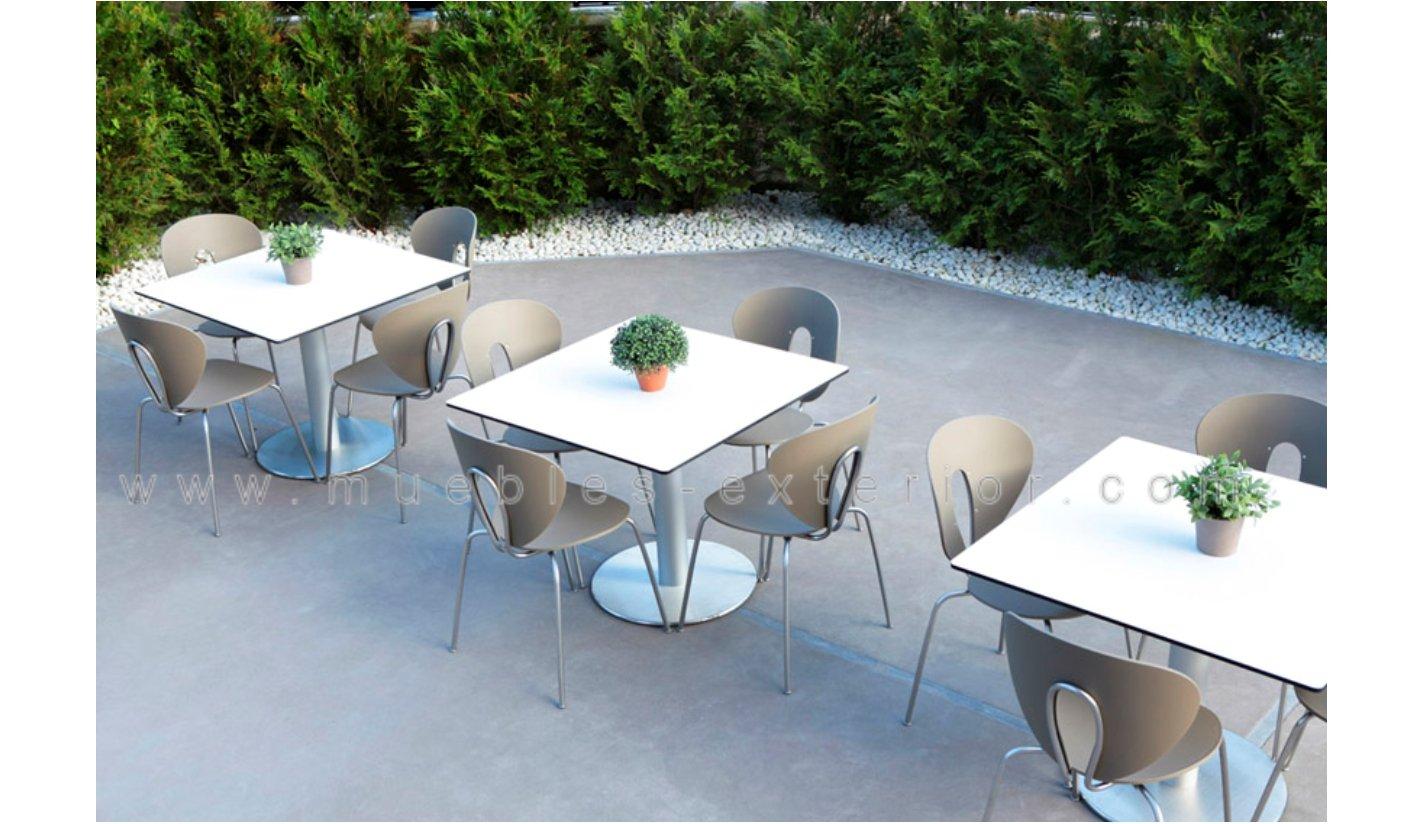Combinación de pies de mesa con tableros