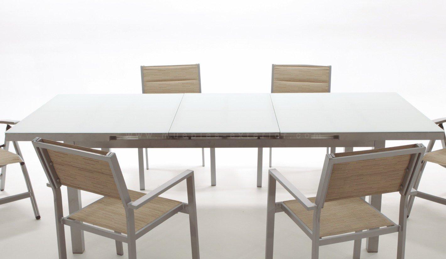 Sillas y mesas de jard n colecci n torrevieja for Mesas y sillas de jardin de aluminio