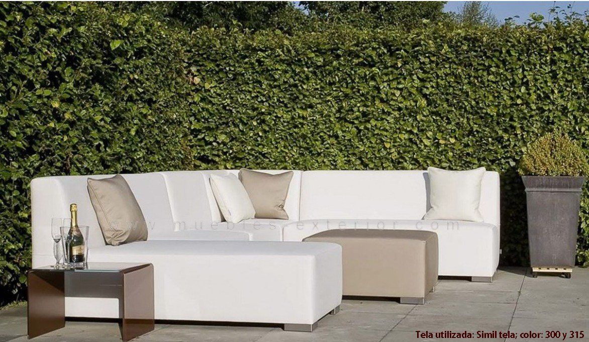 Sof s jard n impermeables muebles de jard n impermeables for Sofa exterior terraza
