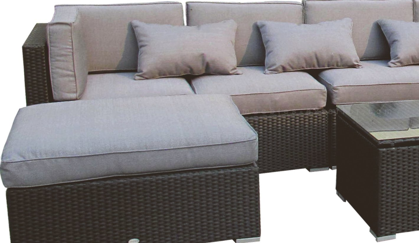 Beautiful juegos de jardin rattan contemporary design for Muebles exterior rattan