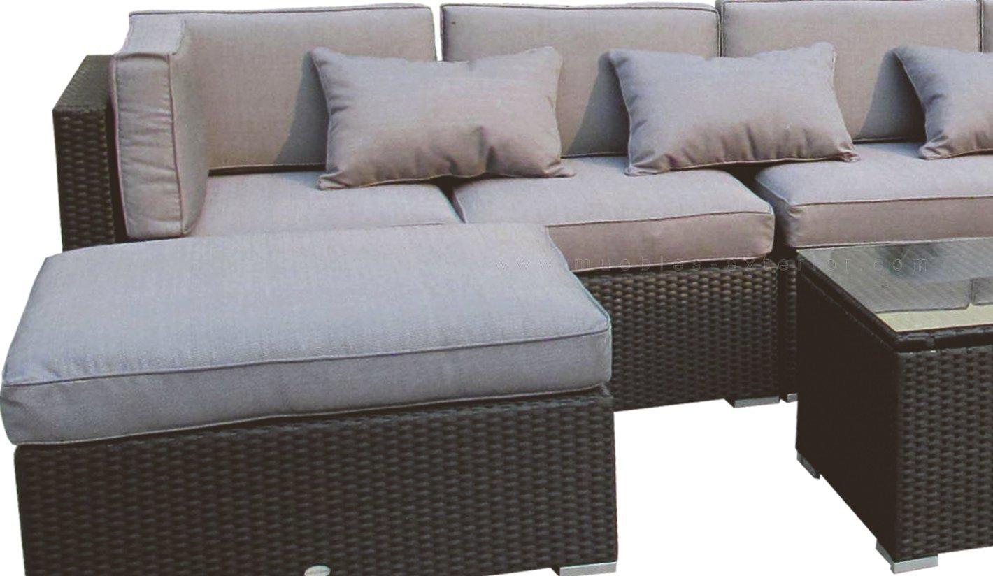 Sof s de jard n y muebles de exterior valencia for Muebles de exterior de rattan