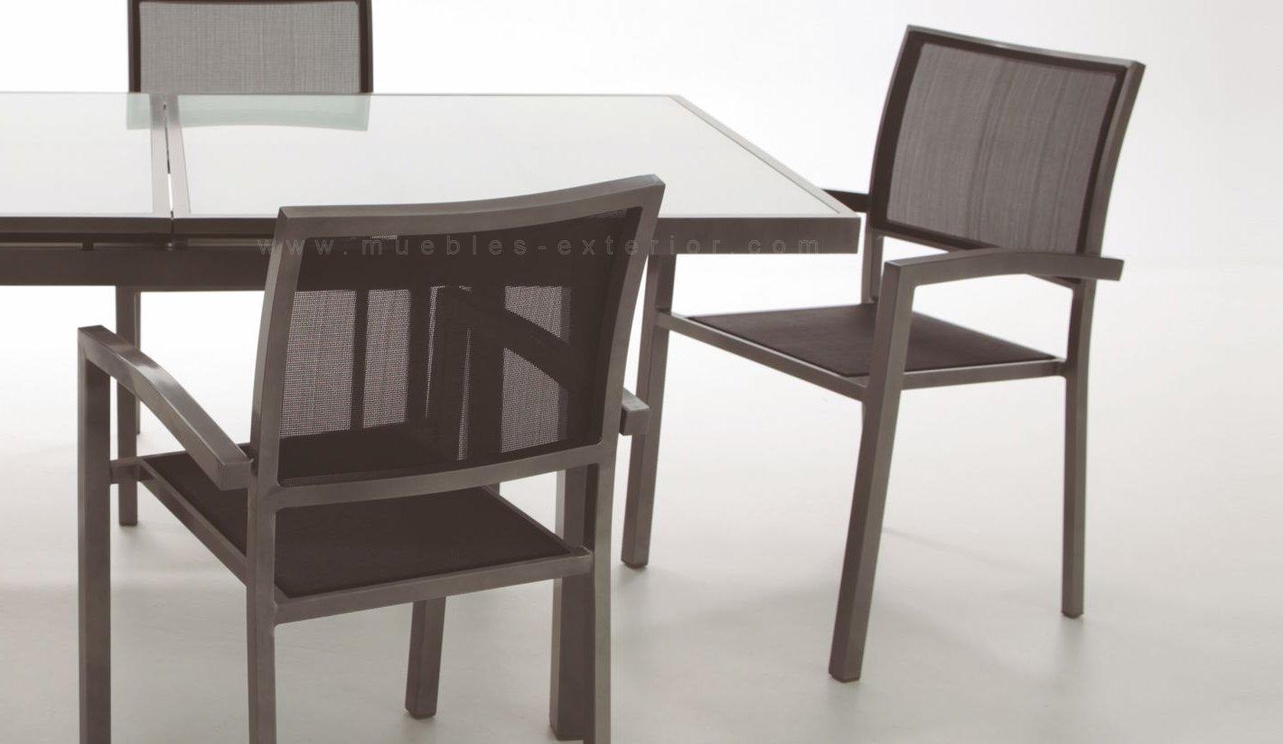 Conjunto de sillas y mesas de exterior gij n - Sillas para exterior ...