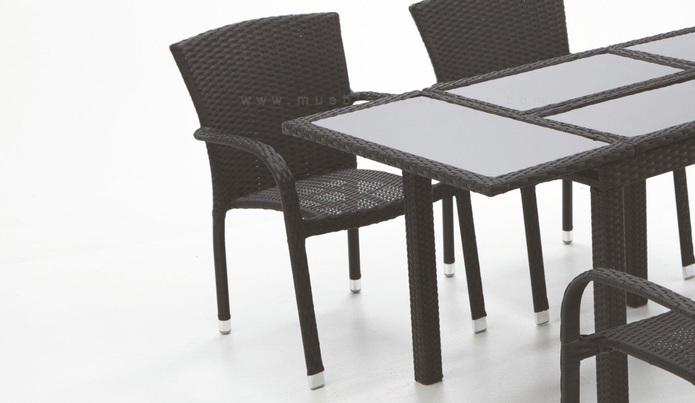 Sillas y mesas de jard n manila for Ofertas mesas y sillas de jardin