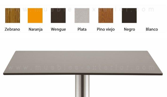 Sobres de mesa compacto fen lico - Tablero para exterior ...