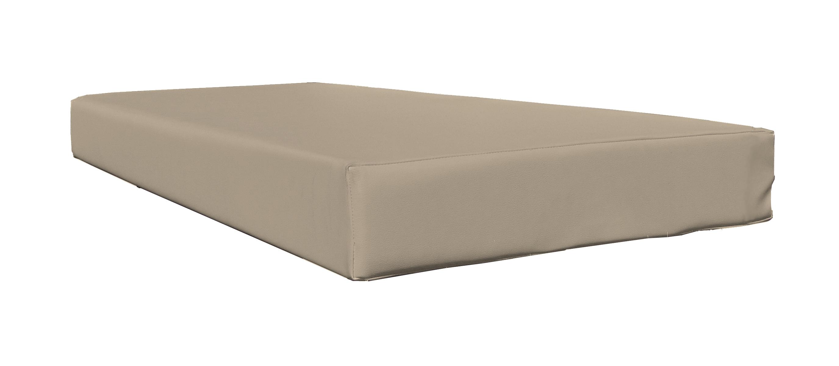 Coj n exterior para palet medida 120x80 for Cojin para sofa exterior