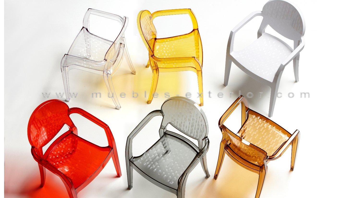 Muebles plastico transparente 20170801221439 - Sillas en policarbonato ...