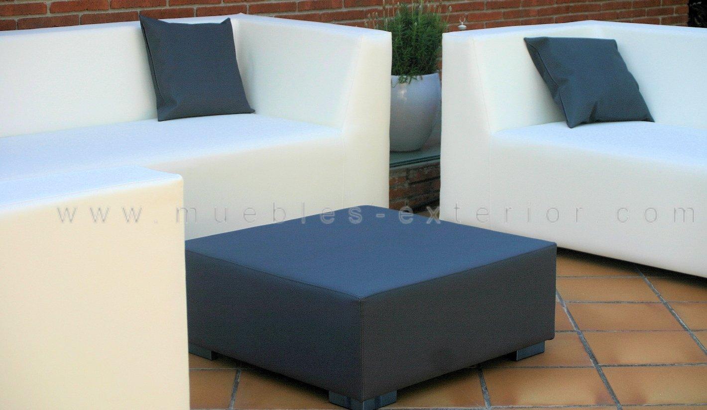 Sofa jard n impermeable 2 plazas 168 cm - Muebles exterior tela nautica ...