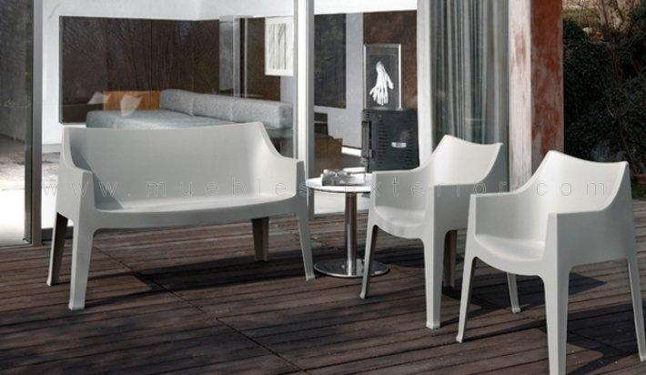 Sof de exterior benitachel 2 plazas for Jardin y exterior muebles terraza