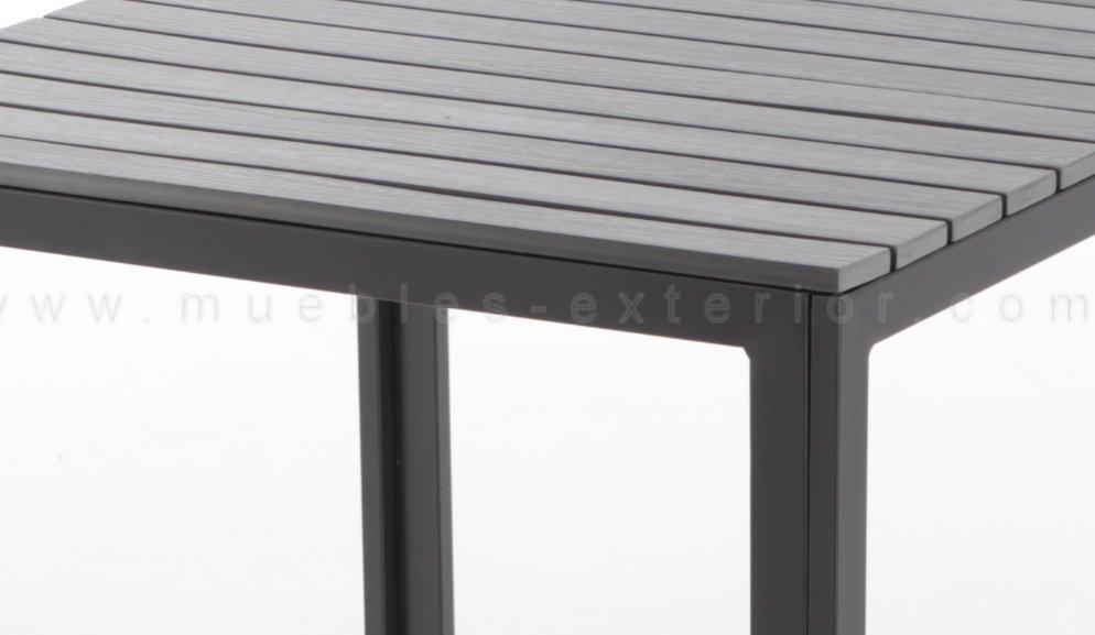 Mesa de terraza via 80 x 80cm - Mesas de terrazas ...