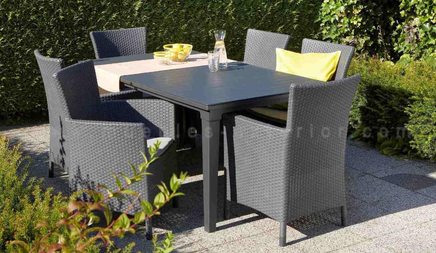 mesa comedor exterior carver 165x94