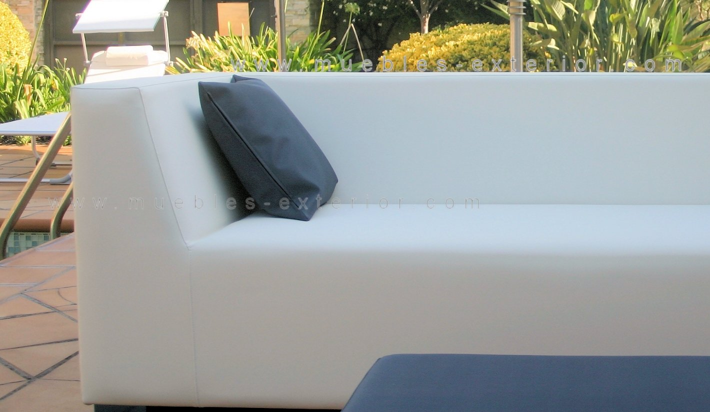 Sofa jard n impermeable 3 plazas 238 cm for Sofa exterior impermeable