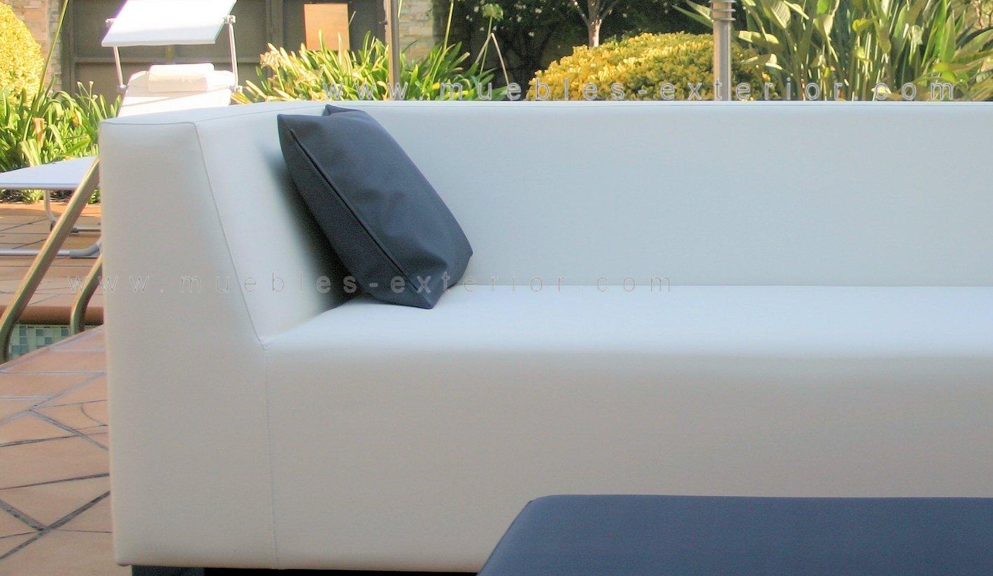 Sofa Jardin Finest Sofa Places Structure Aluminium Laqu Blanc  # Muebles Jardin Tokyo