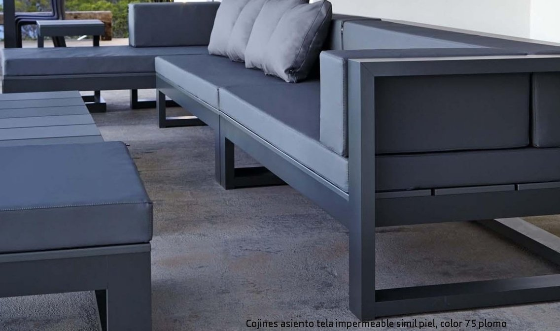 Cojines de de respaldo de espuma a medida - Cojines muebles exterior ...