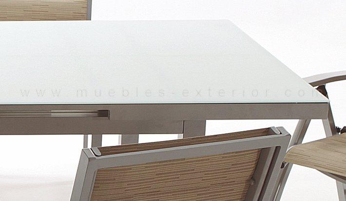 mesa terraza ampliable Torrevieja