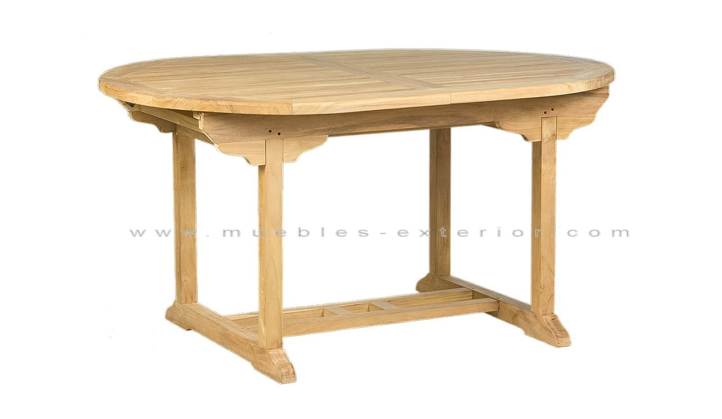 Mesa de teca ampliable - Mesa de teca ...