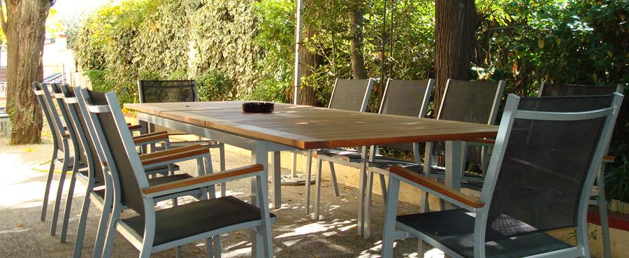 muebles de terraza en figueres