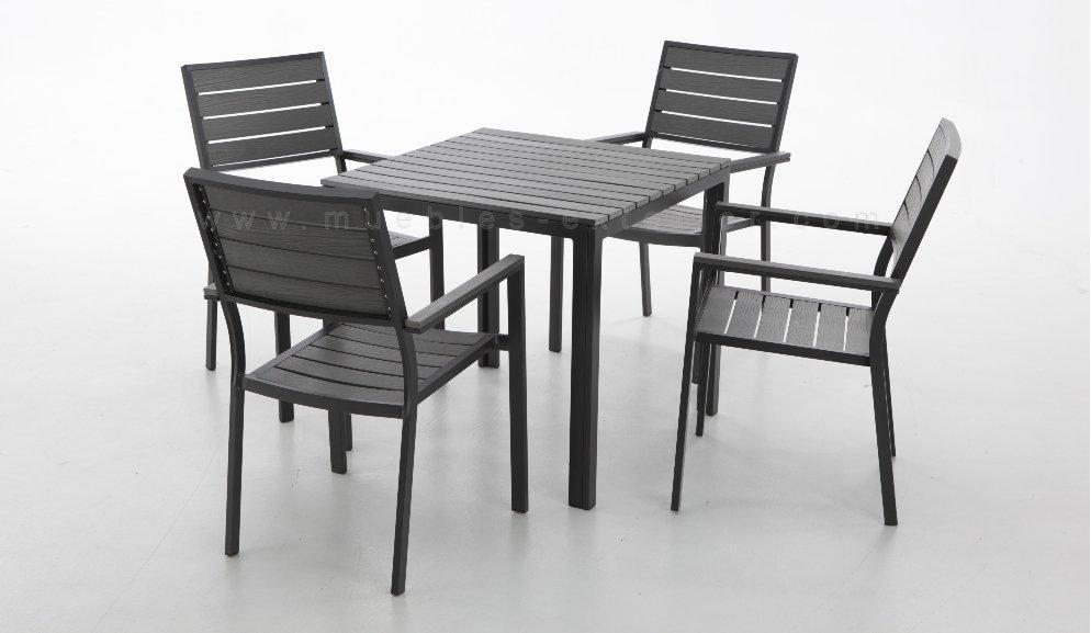 mesa de terraza VIA 80 x 80cm