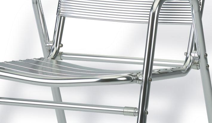 Silla aluminio exterior for Muebles de exterior aluminio