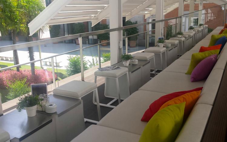 Muebles de terraza en Thyssen