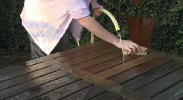 Guía de mantenimiento de muebles de exterior